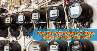 Báo giá lắp đồng hồ điện, công tơ điện